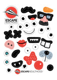 Escape Faces Sticker Set