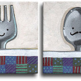 Fork & Spoon Original Art