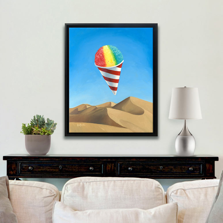 Hope in the Desert Original Art