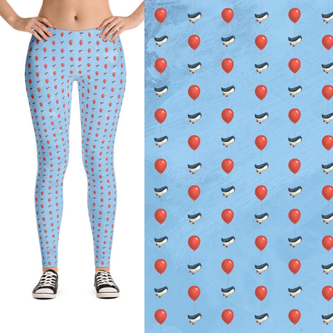 Marty the Penguin Leggings
