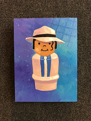 Michael (Smooth Criminal) Original Art