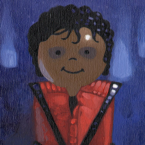 Michael (Thriller) Original Art