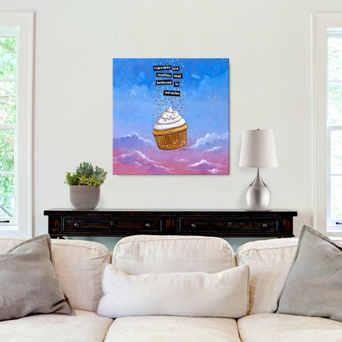 Cupcakes Are Miracles Original Art