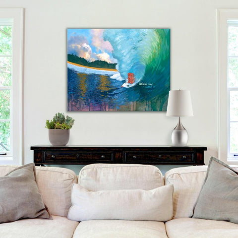 Life's a Wave Original Art