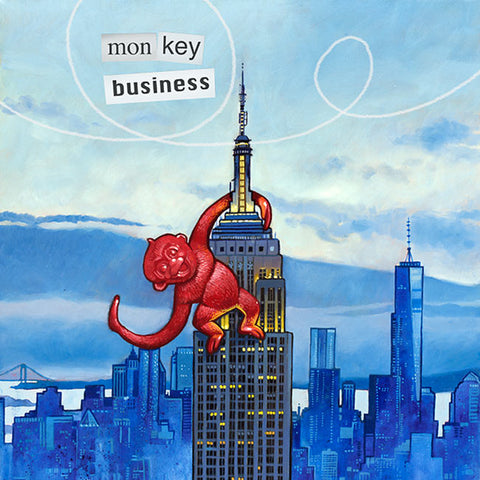 Monkey Business Art