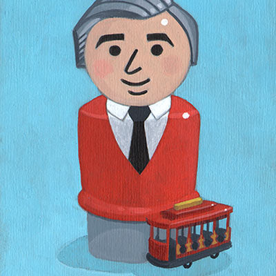 Mr. Rogers Original Art