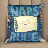 Naps Rule Pillow
