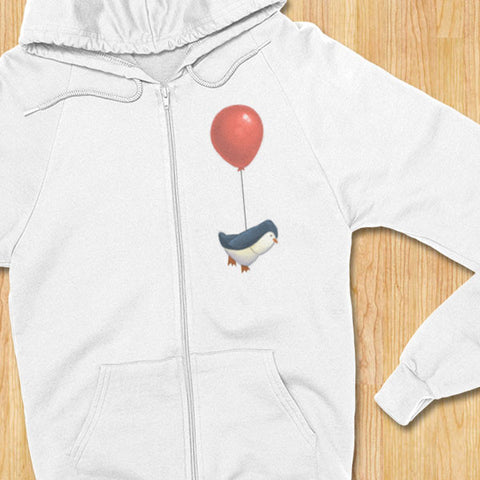Penguins Can Fly Hoodie