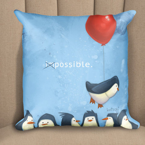 Penguin Possible Pillow