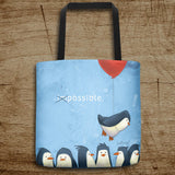 Penguin Possible Tote Bag