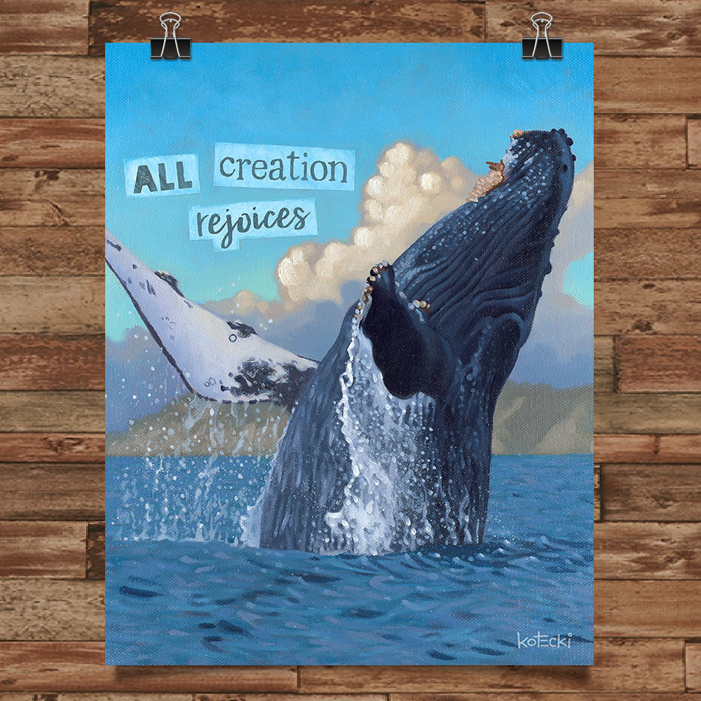 All Creation Rejoices Print