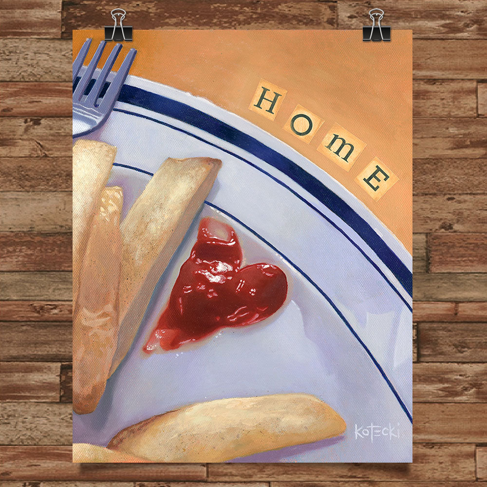 Home Fries Print
