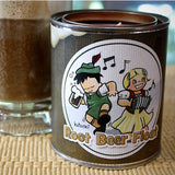 Root Beer Float Candle