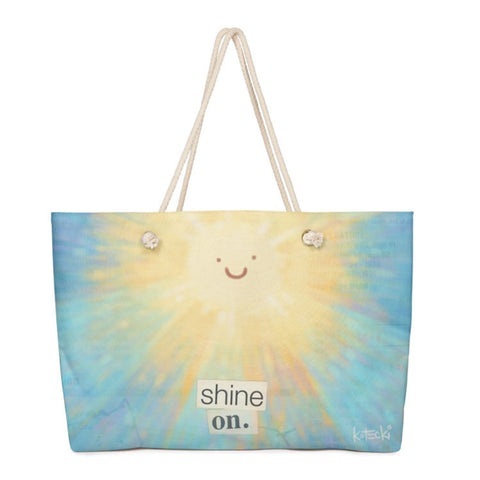 Shine On Weekender Bag