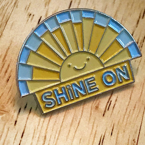 Shine On Enamel Pin