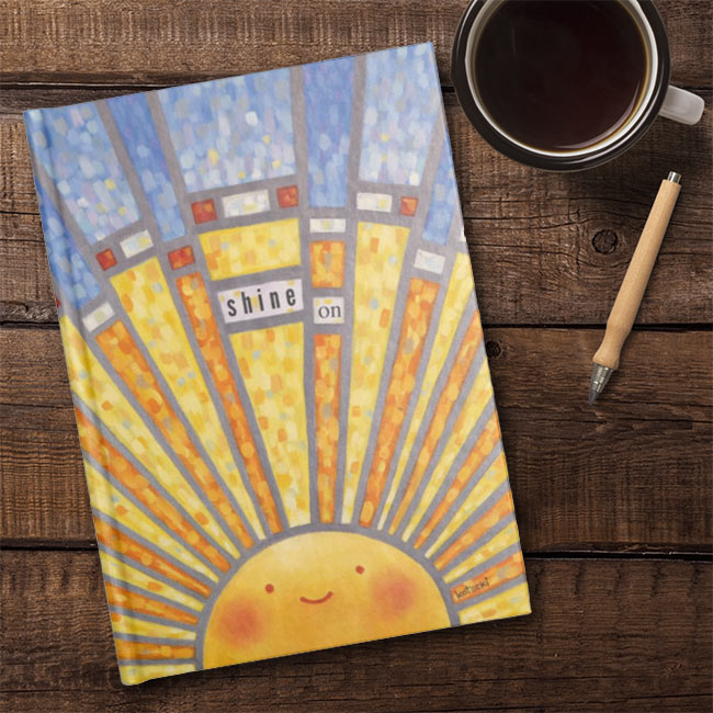 Shine On Hardcover Journal