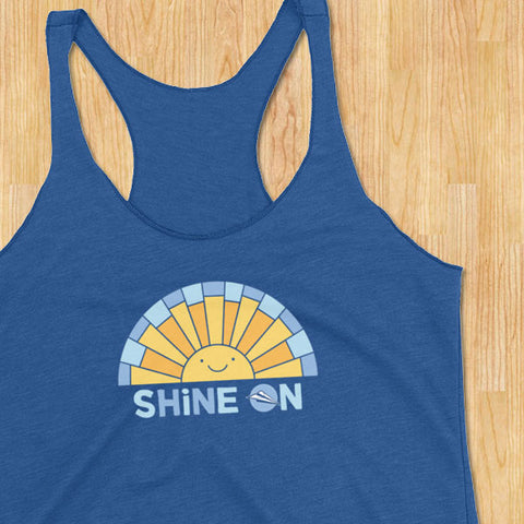 Shine On Racerback Tank Top