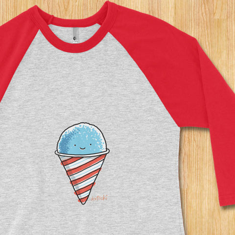 Snow Cone 3/4 Sleeve Jersey