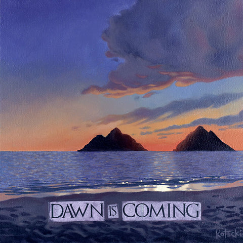 Dawn is Coming Print