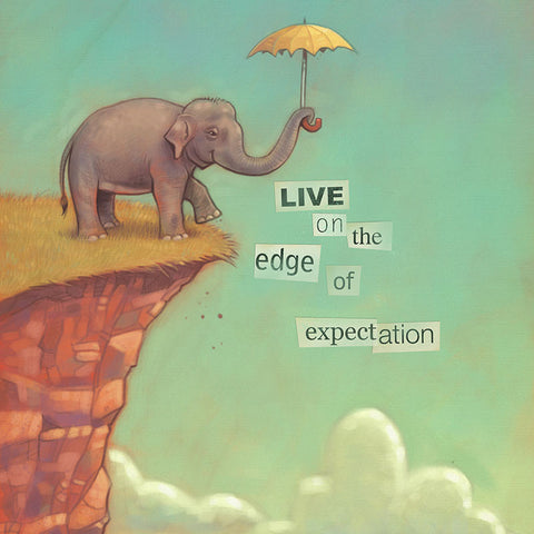 Edge of Expectation Print