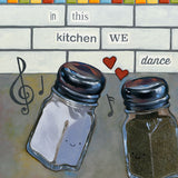 In This Kitchen We Dance Print