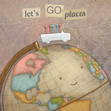 Let's Go Places Print