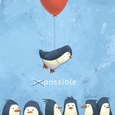 Penguin Possible Print
