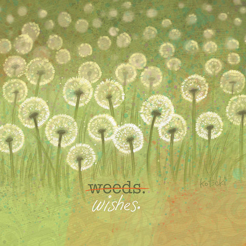 Weeds or Wishes Print