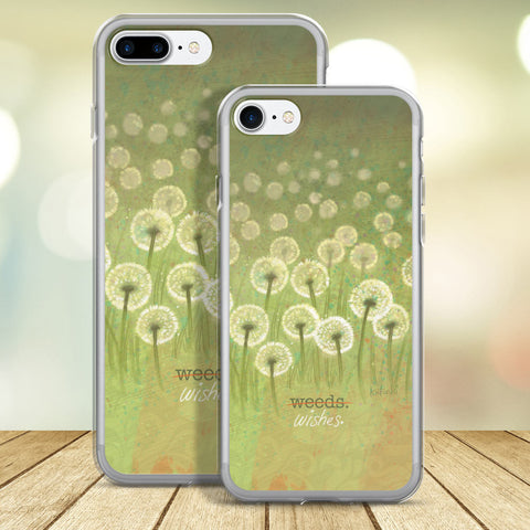 Weeds or Wishes iPhone Case