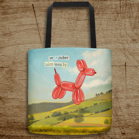 Wonder Aimlessly Tote Bag