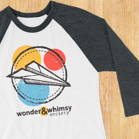 Wonder & Whimsy 3/4 sleeve jersey