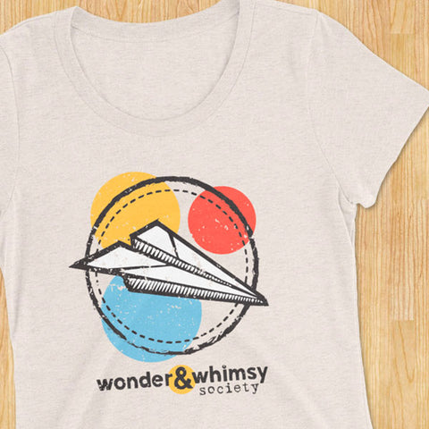 Wonder & Whimsy Society Ladies' T-shirt