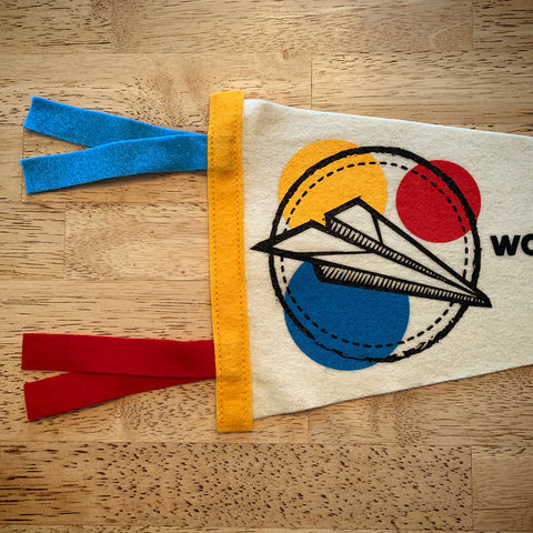 Wonder & Whimsy Society Pennant