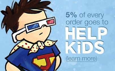 5% of every order goes to help kids.