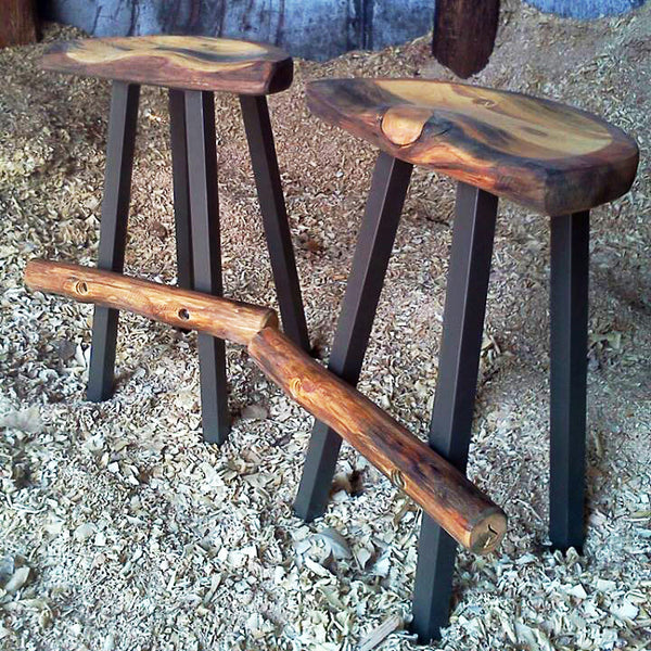 Modern Rustic Bar Stool Kit Mitchell Dillman