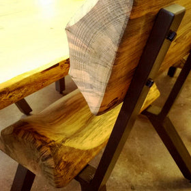 Pre cut diy welding kits mitchell dillman modern rustic dining chair kit solutioingenieria Gallery
