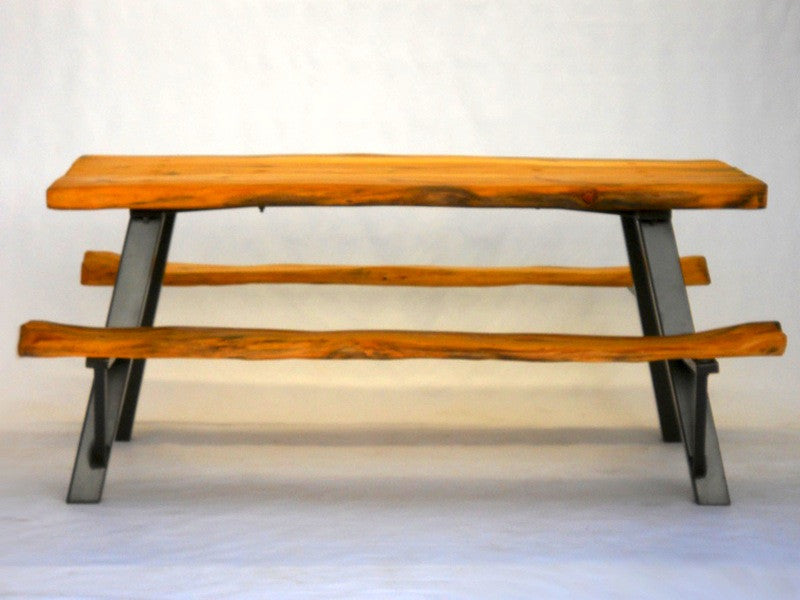 Handcrafted ReadytoAssemble ModernRustic Picnic Table - Ready to assemble picnic table