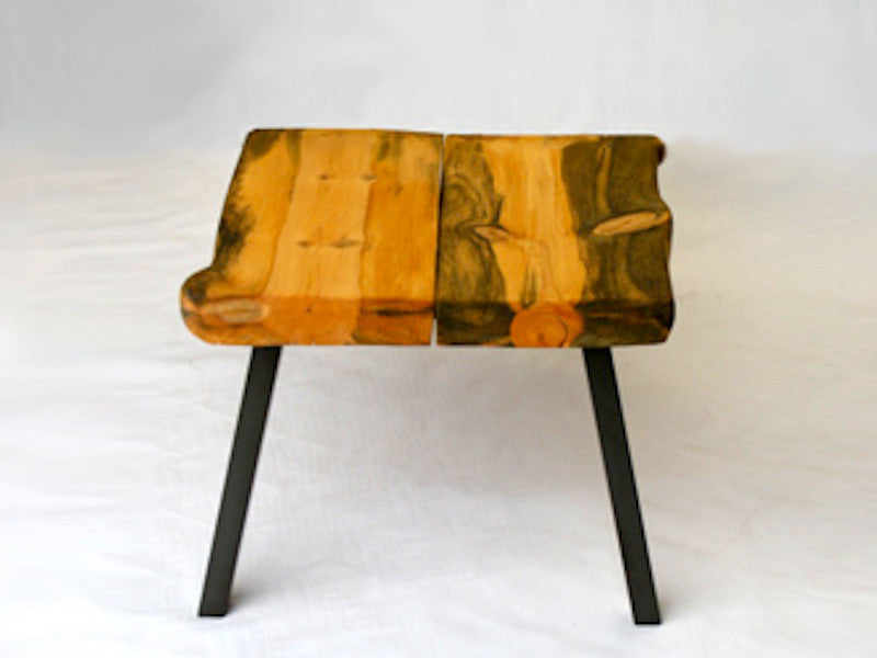 Hand Crafted, Ready To Assemble Modern Rustic Side Table