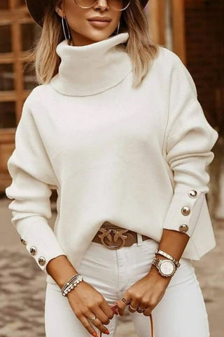 COSY KNITTED TURTLENECK SWEATER  MB10FCIZO5083