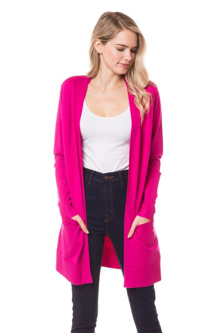 Open Long Cardigan SW170