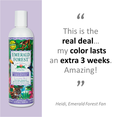 Emerald forest Moisturizing Shampoo ~ The Real Deal