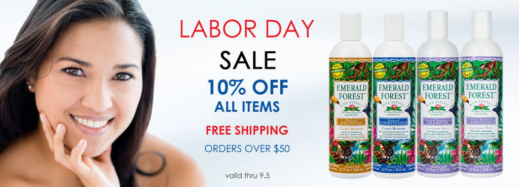 Emerald Forest ~ Labor Day Sale