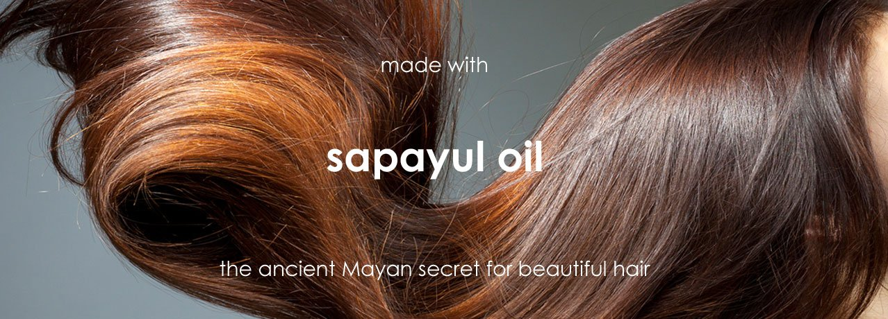 Emerald Forest with Sapayul oil, the ancient Mayan beauty secret