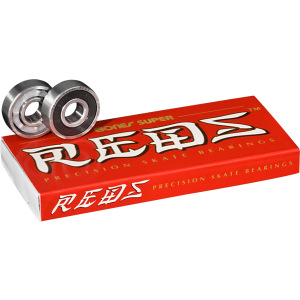 Bones Super Reds Bearings (Set of 8) - Venue Skateboards