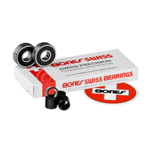 Bones Swiss Bearings (Set of 8) - Venue Skateboards
