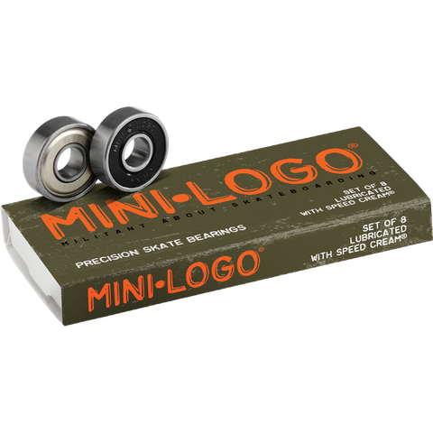 Mini Logo Bearings - Venue Skateboards