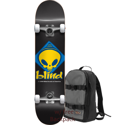 Blind Retro Reaper Scout Complete 7.75 Blk w/Backpack - Venue Skateboards