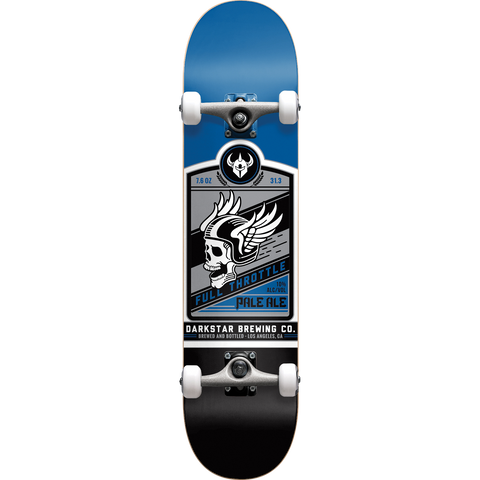 Darkstar Full Throttle Complete 7.6 Blue - Venue Skateboards