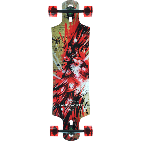 Landyachtz Maple Drop Hammer Longboard Complete - Venue Skateboards
