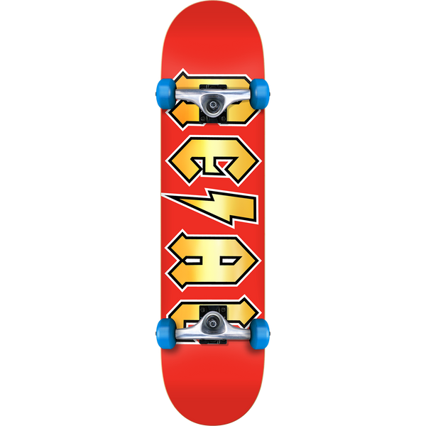 Real Deeds Metallics Complete - 7.5 Red/Gold - Venue Skateboards